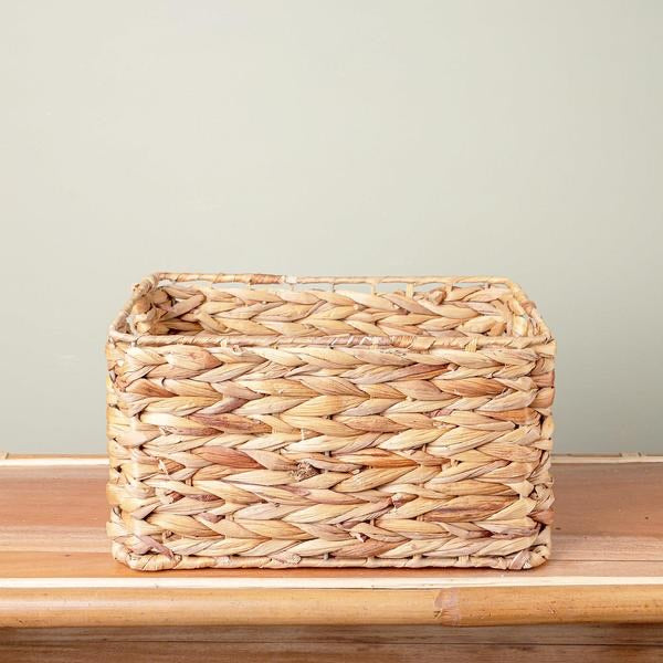 Hyacinth Storage Basket