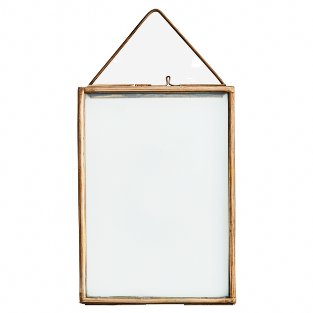 Antique brass Hanging Photoframe - From Victoria Shop