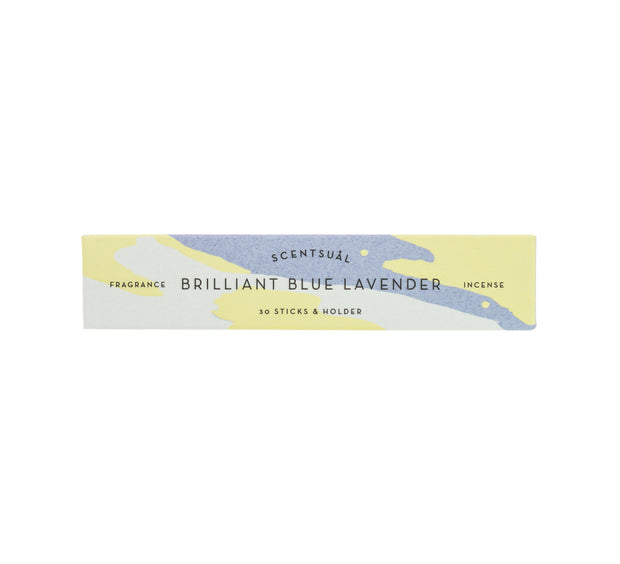 Scentsual Brilliant Blue Lavender Incense Sticks