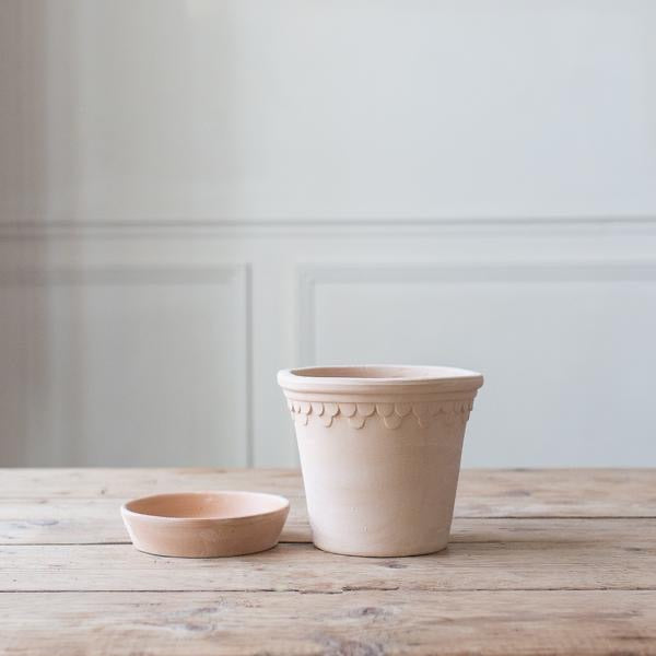 Bergs Potters Copenhagen Plant Pot and Saucer