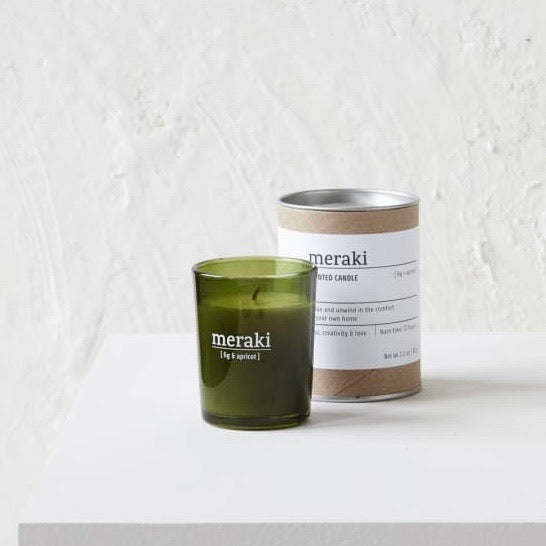 Meraki  Fig & Apricot Candle - From Victoria Shop
