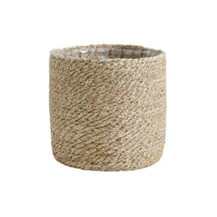 Jute basket planter - medium - From Victoria Shop