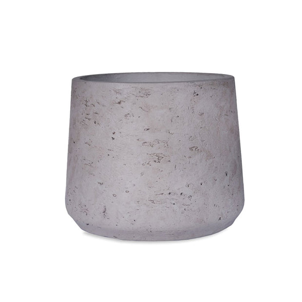 Tapered Cement Plant Pot - From Victoria Shop