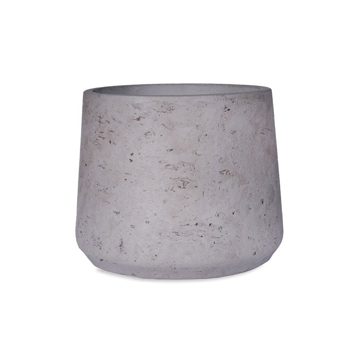 Small Tapered Cement Plant Pot