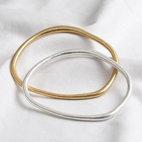Organic Shaped Bangle