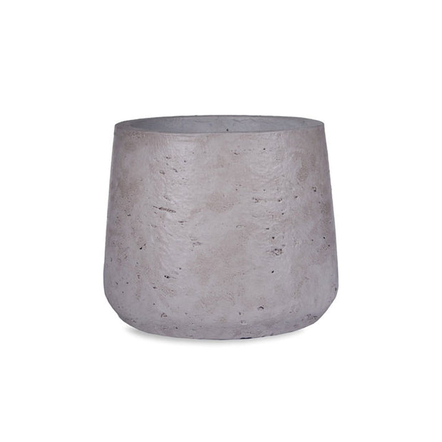 Large Tapered Cement Plant Pot