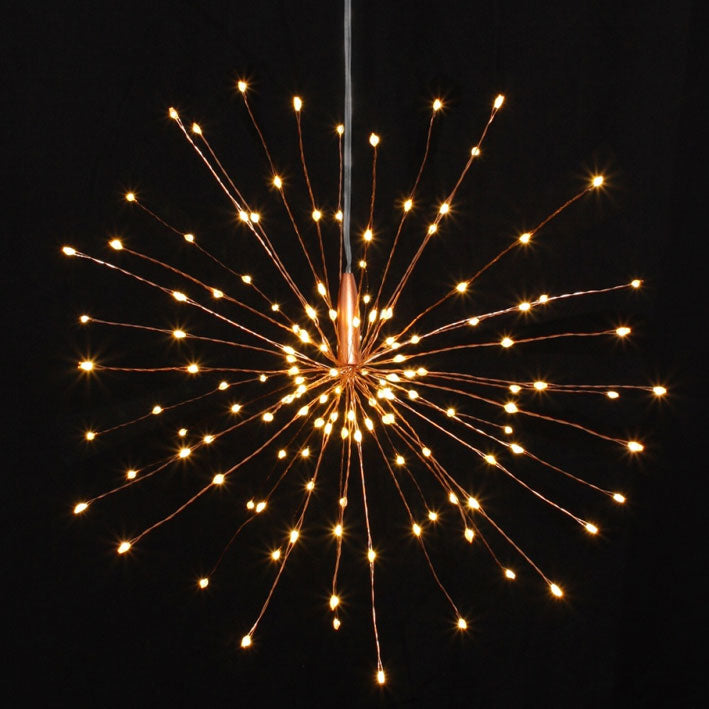 festive led starburst lights