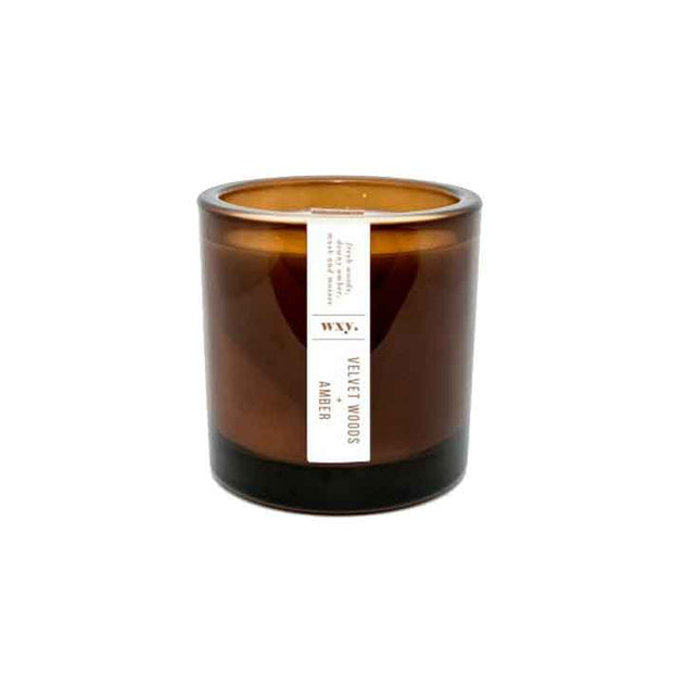 WXY Velvet woods & Amber Candle - From Victoria Shop