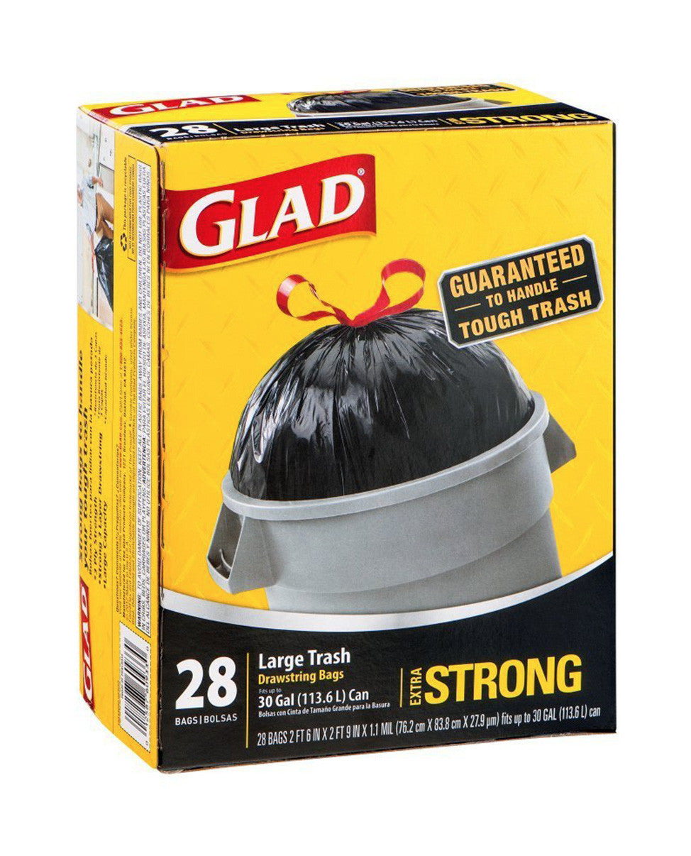 Top Kitchen Essentials | Glad Trash Drawstring in McLean | Discount Essentials