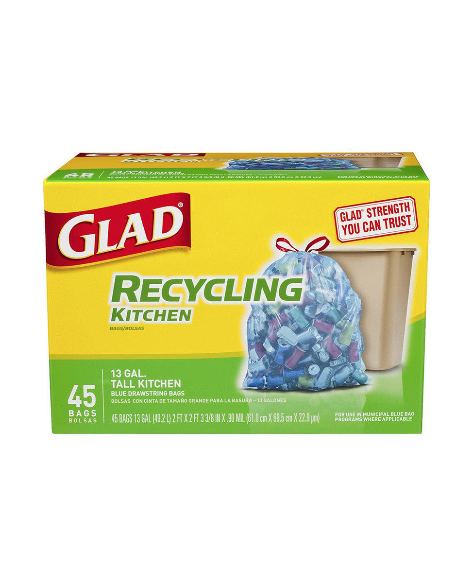 Best Kitchen Items | Glad Recycling Kitchen Drawstring in McLean | Discount Essentials