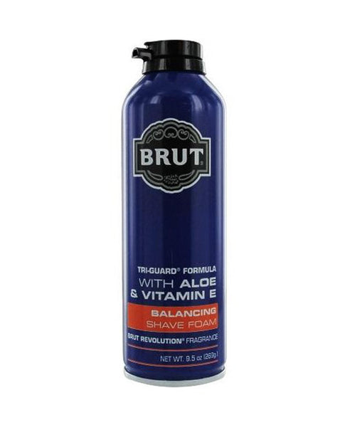 Affordable Personal Care Items | BRUT Shave Foam | Discount Essentials