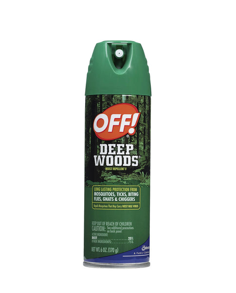 Attractive Skin Products in McLean | Off! Deep Woods Ative Mosquito Repllent -Outdoors| Discount Essentials