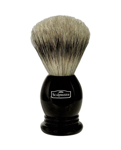 ScalpMaster 100% Badger Shaving Brush