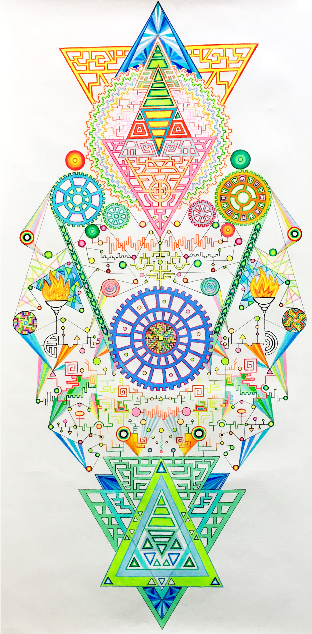 Giclée print: My Cosmic Happiness Generator