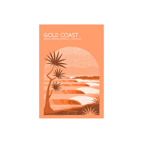 Gold Coast World Surfing Reserve - Sticker