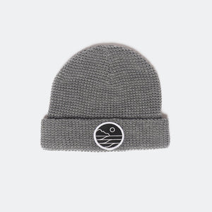 Save The Waves Classic Gray Beanie