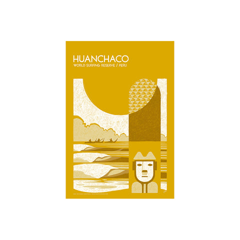 Huanchaco World Surfing Reserve - Sticker