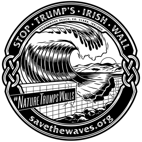 #NatureTrumpsWalls Sticker