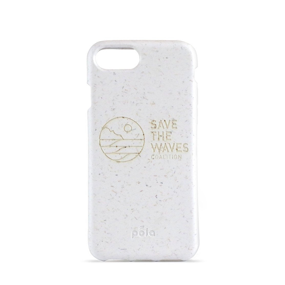 Pela Save The Waves White iPhone Pela Case