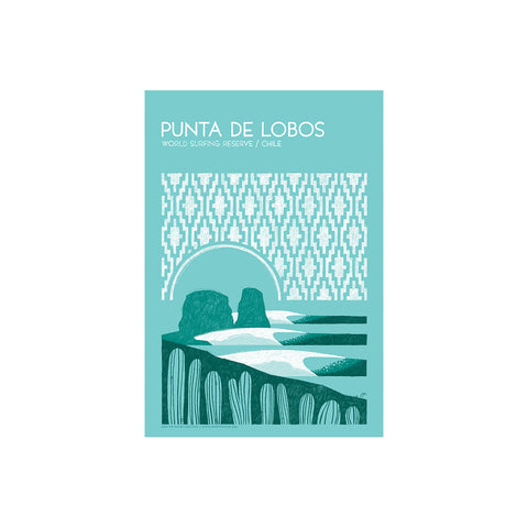 Punta de Lobos World Surfing Reserve - Sticker