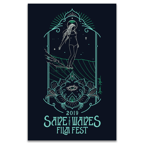 NEW! Save The Waves Film Festival 2019 - Poster
