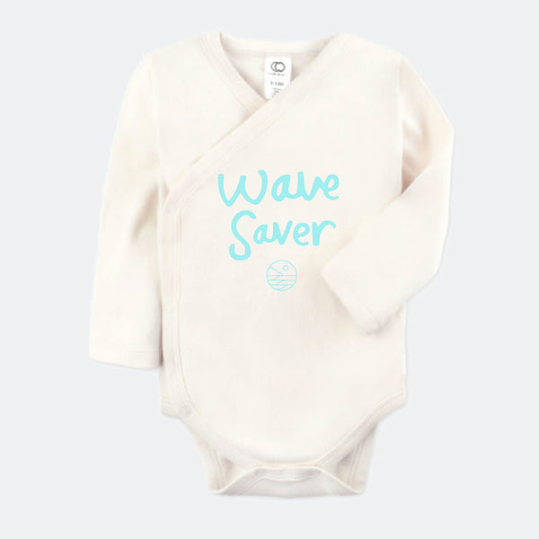 Save The Waves Classic Baby Onesie