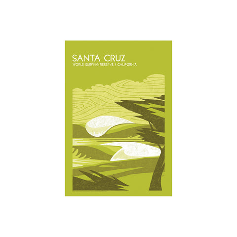 Santa Cruz World Surfing Reserve - Sticker