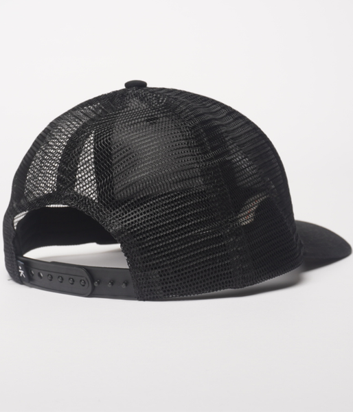 Save The Waves Trucker Hat_Black_Back