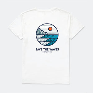 Save The Waves Unisex Sunrise Tee