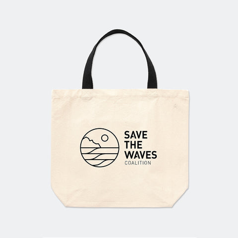 Save The Waves Tote Bag