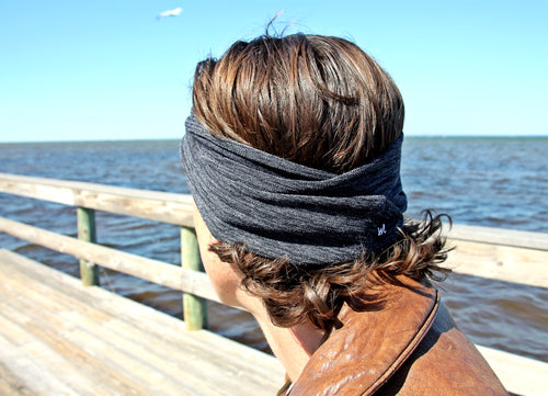 Mens Extra Wide Headband Jersey Soft Cotton - Wild Child Headbands