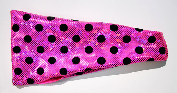 LOVE POLKA DOTS High Performance Non-Slip Headband - Wild Child Headbands
