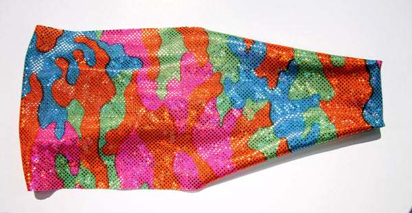 NEON CAMO WILD CHILD High Performance Non-Slip Headband - Wild Child Headbands
