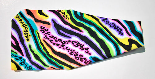 WILD NEON ANIMAL High Performance Non-Slip Headband - Wild Child Headbands