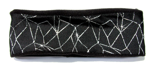 REFLECTIVE ON BLACK Warm Fleece High Performance Headband - Wild Child Headbands