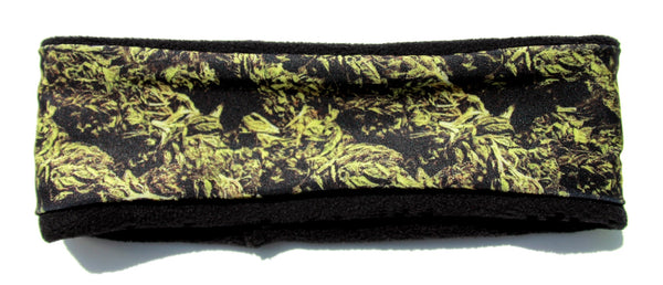CANNABIS BUDS Fleece High Performance Headband - Wild Child Headbands