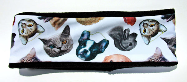 RAINING CATS & DOGS Fleece High Performance Headband - Wild Child Headbands