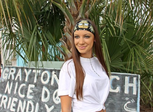 PINEAPPLES HAVE PEELINGS TOO High Performance Non-Slip Headband - Wild Child Headbands