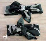 Mom and Baby CAMO Matching Headbands! - Wild Child Headbands