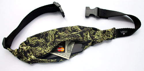 CANNABIS BUDS Running Belt (Fanny Pack) - Wild Child Headbands