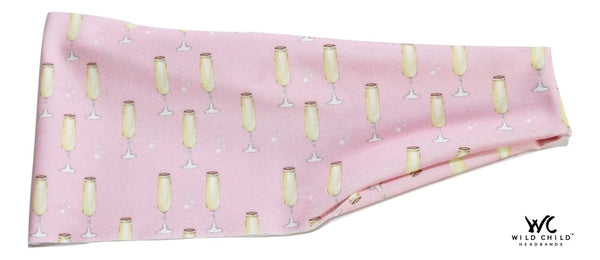 CHAMPAGNE IN THE PARK Fringe Fighter, Hair Tamer Headband - Wild Child Headbands