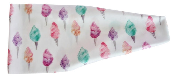 Cotton Candy Watercolor Designer High Performance Non-Slip Headband - Wild Child Headbands