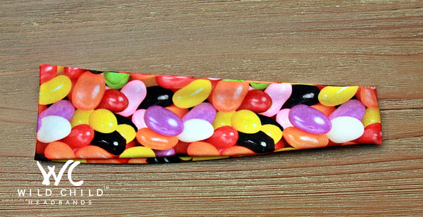 JELLY BEANS! Headband - Wild Child Headbands