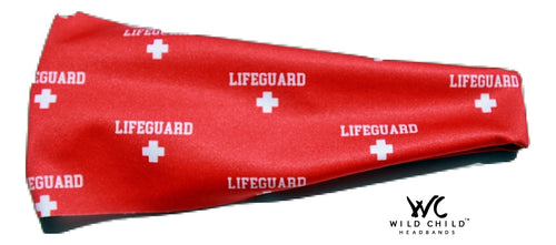 Lifeguard High Performance Non-Slip Headband - Wild Child Headbands