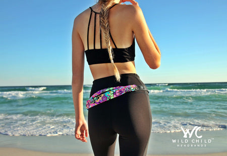 SUGAR SKULLS Running Belt (Fanny Pack)