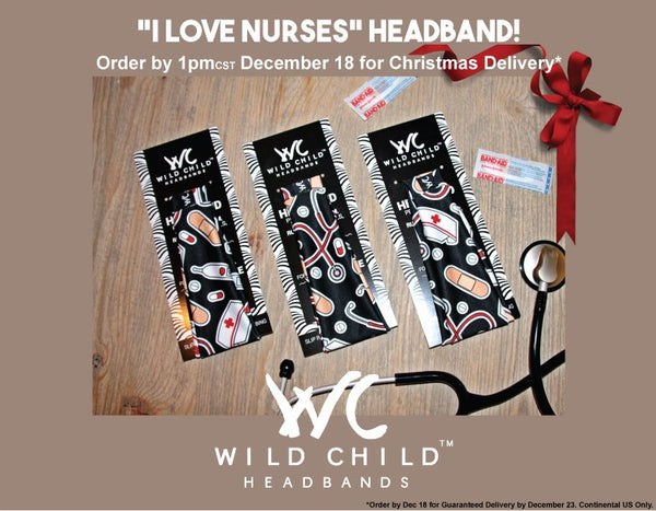 I Love Nurses Headband High Performance Non-Slip Headband
