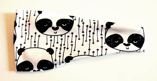 PANDAS GONE WILD High Performance Non-Slip Headband - Wild Child Headbands