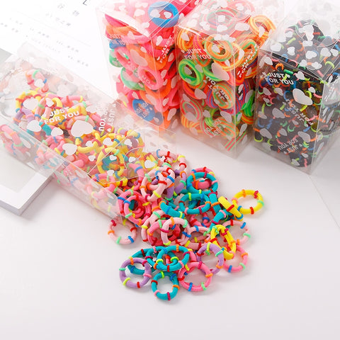 GIRL'S MINI PONYTAIL HOLDERS - Wild Child Headbands