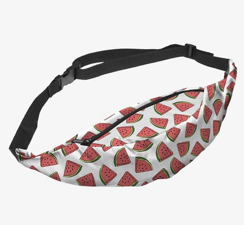 Juicy Watermelon White Fanny Pack - Wild Child Headbands