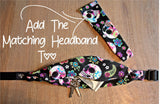 SUGAR SKULLS Running Belt (Fanny Pack) - Wild Child Headbands